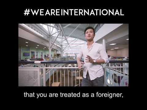 #WeAreInternational - Graduation 2017