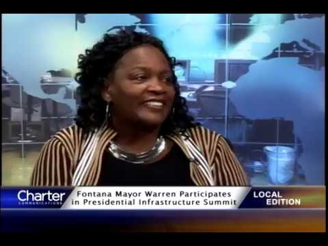 Charter Local Edition with Fontana Mayor Acquanetta Warren