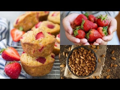 Basic Muffin Recipe For Strawberry & Nut Muffins-Cupcakes (Eggless Recipe)