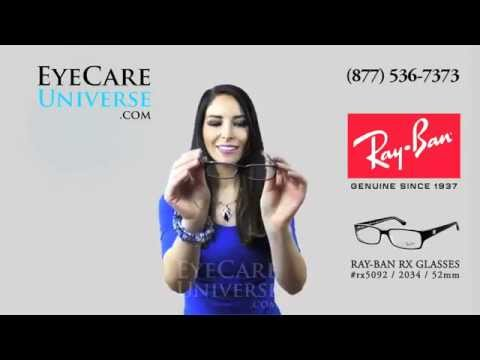 Ray Ban Rx5092 2034 52mm Quick Review