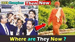 1983 World Cup Champions Indian Team Where are they now