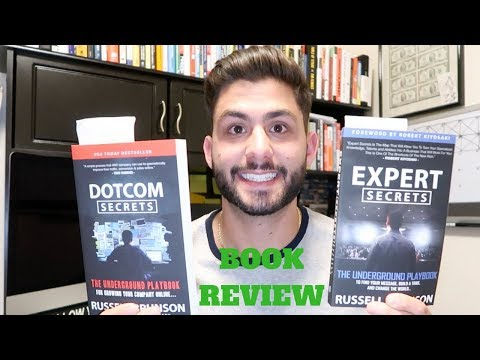 | DOTCOM SECRETS & EXPERT SECRETS By Russell Brunson - Book Review | Make Money Online |
