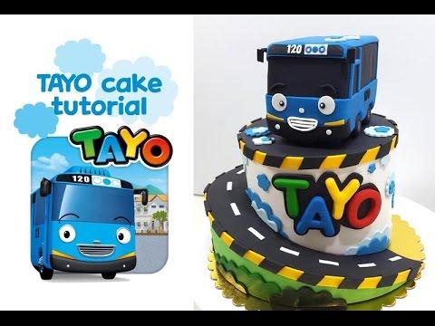 ::sugarcraft::꼬마버스타요케이크 만들기 tayo bus cake tutorial