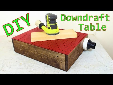 Downdraft Table for Sanding / DIY / How-To