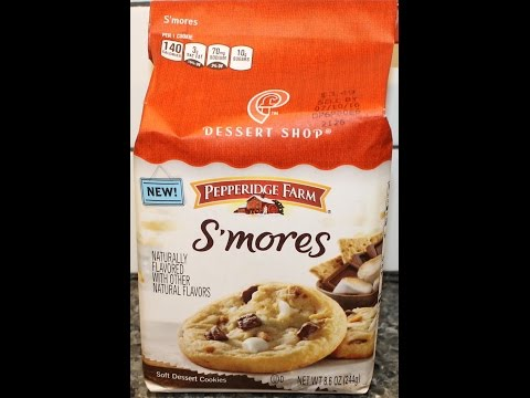 Pepperidge Farm Dessert Shop S'mores Review