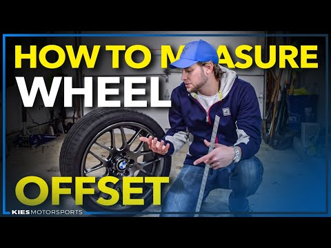How to Measure Wheel Offset on Any Wheel