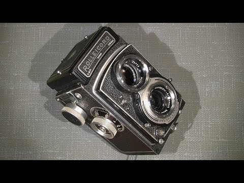 How to clean the focus screen and the mirror in Rolleicord Xenar 1:3.5 75mm