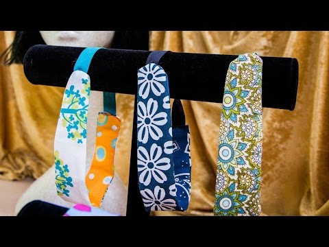 Ken Wingard's DIY Fabric Scrap Headbands