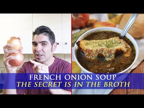 Easy to Make French Onion Soup - Fool Proof Recipe