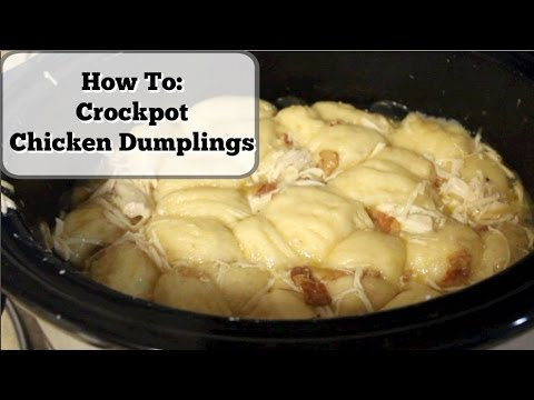 Crockpot Chicken Dumplings!