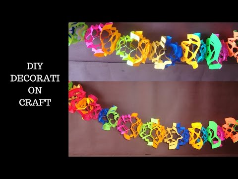 Decoration Crafts( Birthday and Christmas decorations)