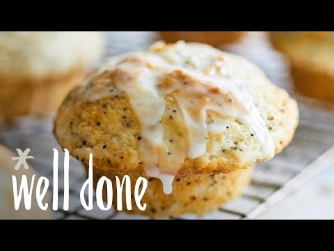 How To Make Grapefruit Poppy Seed Muffins | Recipe | Well Done