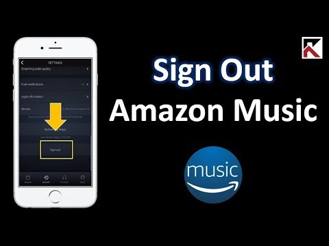 How To Sign Out Of Amazon Music