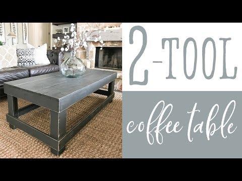 2 Tool Coffee Table
