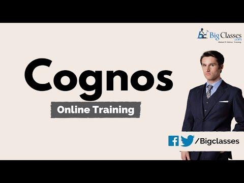 IBM Cognos BI Online Training - Cognos Analysis Studio Tutorial - Bigclasses