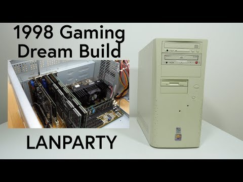 1998 Gaming Dreambuild Lanparty Preparation