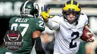 No. 6 Michigan Wolverines defeat No. 24 Michigan State Spartans 21-7   NCAA Football Highlights