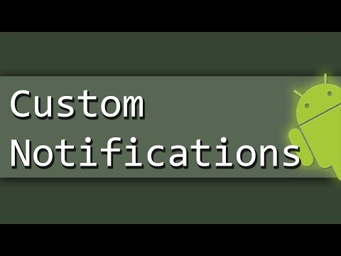 How To Create Custom Notification in Android