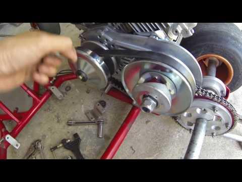 Installing a Torque Converter! - Go Kart Build Part 3
