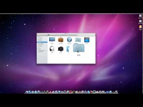 iMac How To : Change Icons