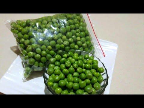 લીલા વટાણાને આખું વર્ષ સ્ટોર કરવાની રીત || frozen green peas processing