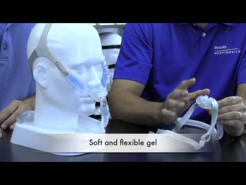Respironics Nuance Gel Nasal Pillow CPAP Mask