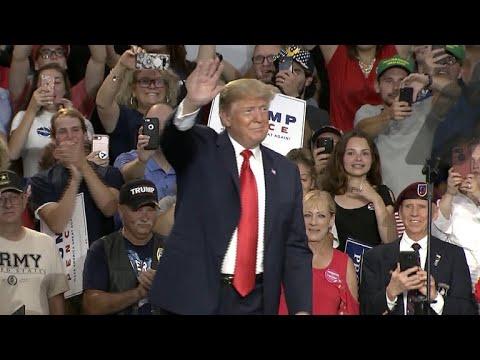 Trump declares victory in GOP primaries despite close races