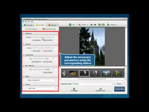 How to convert RAW images using AVS Image Converter?