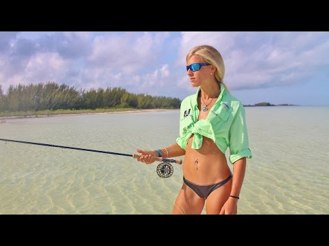How To Cast a Fly Fishing Bonefish Rod with Prescott Smith; Andros, BS