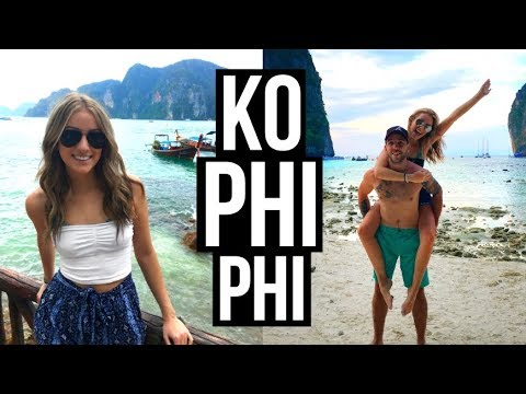 KO PHI PHI VLOG | Wild Monkeys, Long-Tail boat, & the Famous Maya Bay