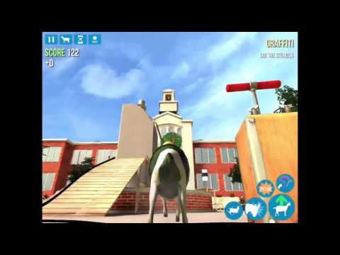 |goat simulator|How to get the cheerleader goat