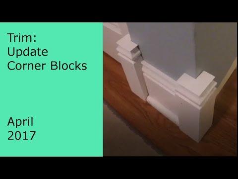Update Video: Making trim outside corner blocks