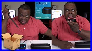 Amazon Echo Dot: I WILL KILL YOU TOO! [Unboxing & Setup]