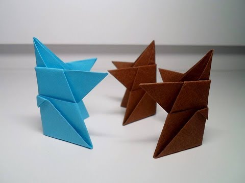 Origami Sumo Wrestler (traditional)