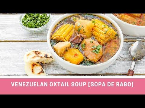 INSTANT POT VENEZUELAN OXTAIL SOUP