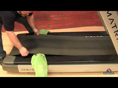 How to Wax a Treadmill Belt and Deck