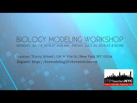 Biology Modeling Workshop, Summer 2018