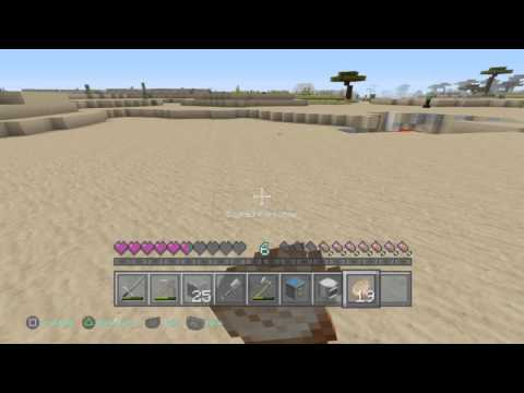Minecraft PS4 3 Lives Hardcore ep 2: Gathering Materials