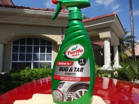 Turtle Wax Bug and Tar Remover Review and Test Results on my 2009 Nissan 370z.