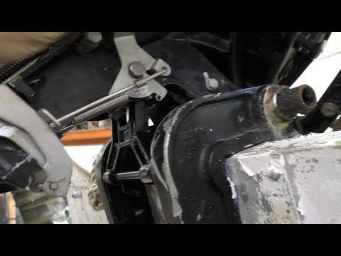 Mercury / Tohatsu 30HP manual tilt stand