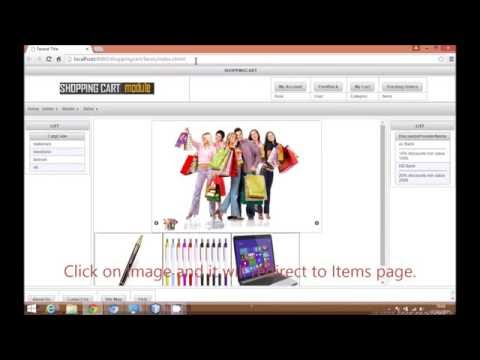 JSF Tutorials Shopping Cart: Create Home Page in JSF using Netbeans,primefaces:Video 7