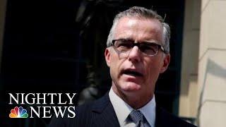 Donald Trump Accuses McCabe, Rod Rosenstein Of 'Treasonous' Plot Against Him | NBC Nightly News