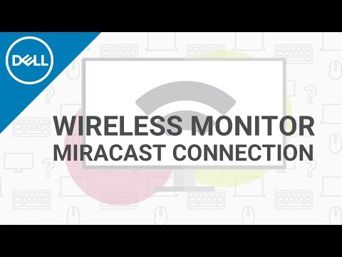 How to Connect Wireless Monitor (Official Dell Tech Support)