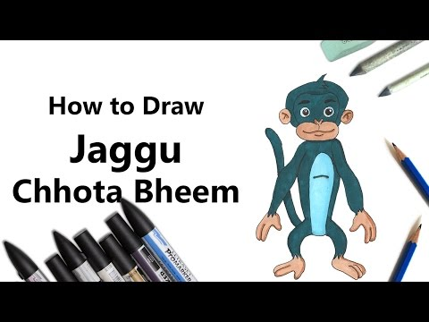 Bheem from Chhota Bheem with ProMarkers Speed Drawing