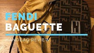 Fendi Baguette in Zucca print REVIEW 2ad7a2c20f94a