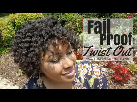Fail Proof Easy Twist Out! (4C Transitioning Hair)