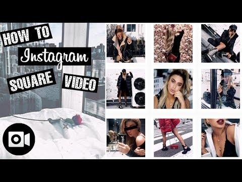 How to make Insta videos square + add border! + Tips on how to make insta videos fit your feed!