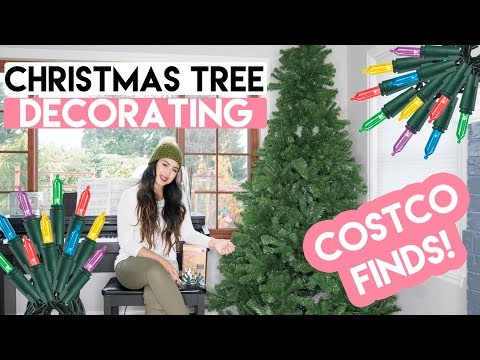 Christmas Tree Decorating - Costco Finds  l  xolivi