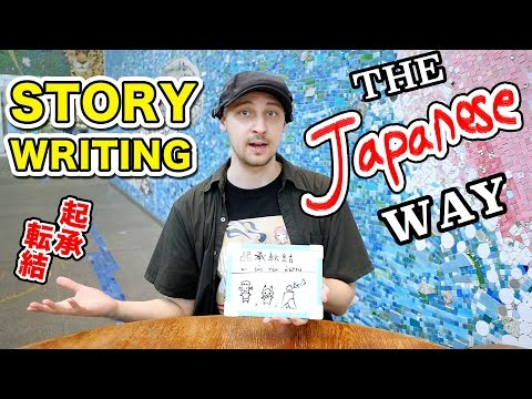 STORY WRITING the JAPANESE WAY|3 Ways to START Your MANGA|漫画のストーリーを作る方法【起承転結】