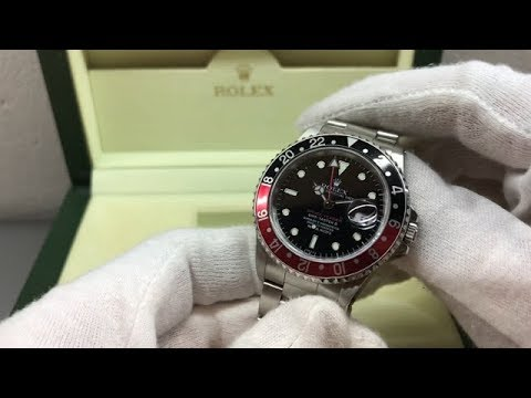 C473 Rolex GMT Master II Chuck Yeager